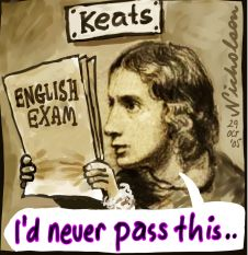 2005-10-29 Keats English exam 226wb