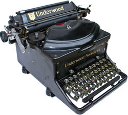 UNDERWOOD NOISELESS