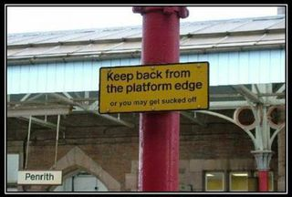 PENRITH RLY STN SIGN