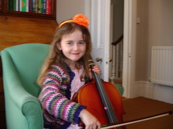 MAISIE WITH CELLO