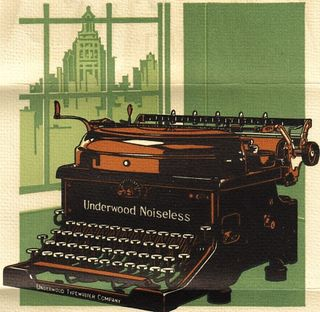UNDERWOOD NOISELESS 1